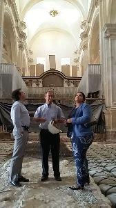 Concluye la reparación de los paramentos, bóvedas y arcos de las naves central y laterales de San Patricio