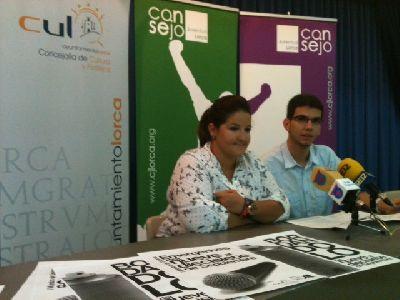 El Ayuntamiento de Lorca y el Consejo de la Juventud organizan del 9 al 22 de septiembre una muestra de grupos musicales y grafitis de bordados lorquinos