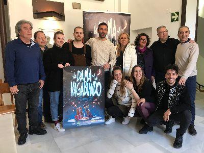 El musical lorquino ''La Dama y el Vagabundo'' nominado al Premio MAX como Mejor Espectáculo Musical o Lírico