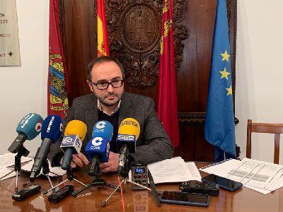 El nuevo Equipo de Gobierno del Ayuntamiento de Lorca recupera un Presupuesto Municipal para 2020 ''realista, transparente, social y equitativo''