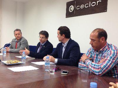 El Alcalde sienta a representantes de las organizaciones empresariales lorquinas y Tragsa para avanzar en la construcción del Centro de Ferias y Congresos de Lorca