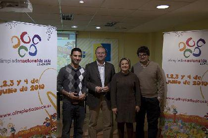 El Ayuntamiento de Lorca presenta a los medios nacionales la ?I Olimpiada Nacional de Ocio?, con el respaldo del Consejo de la Juventud de España, el Regional y el Instituto de la Juventud