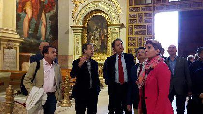 Francisco Jódar: ''el trabajo que hemos desarrollado para recuperar nuestros monumentos es una orgullosa herencia que disfrutarán las próximas generaciones de lorquinos''