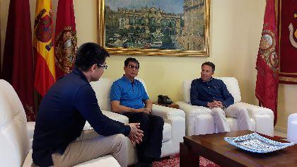 El Alcalde desea suerte al Lorca Fútbol Club en su fase de ascenso a 2ª división