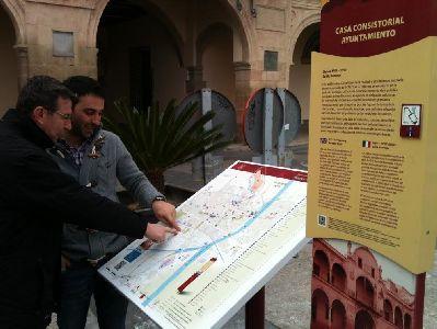 El ayuntamiento de lorca refuerza la se alizaci n for Oficina de turismo lorca