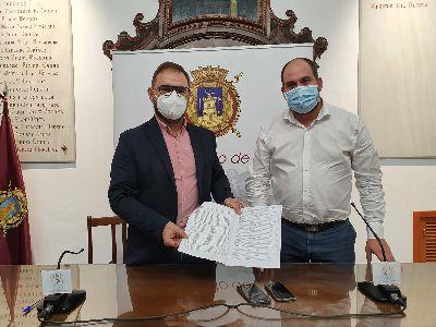 El Ayuntamiento de Lorca inicia la campaña de recogida de firmas en apoyo a la ILP para salvar el Mar Menor