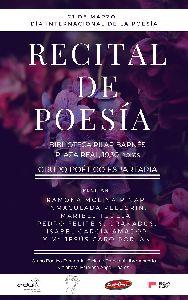Lorca conmemora el Día Internacional de la Poesía este miércoles con un recital en la Biblioteca Pilar Barnés de 6 poetas locales