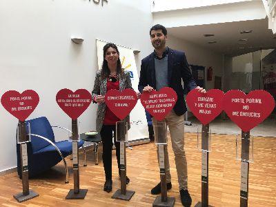 El Ayuntamiento y Hostelor ponen en marcha la campaña de concienciación ciudadana ''Lorca limpia te enamora'' para fomentar el cuidado de nuestras calles