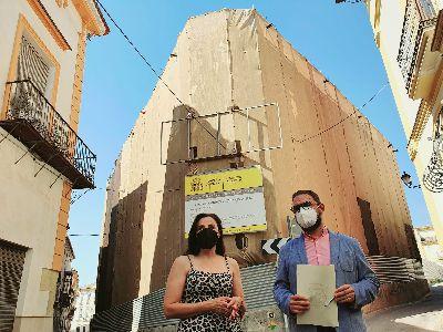 El alcalde de Lorca anuncia la adjudicación del proyecto de construcción del Palacio de Justicia