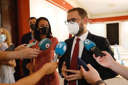 El alcalde destaca que ''Lorca es una ciudad universitaria'' en el Consejo Interuniversitario