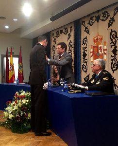 El Alcalde de Lorca felicita al Cuerpo Nacional de Policía en la conmemoración de la festividad de los Ángeles Custodios por la labor de servicio público que realizan en nuestra ciudad