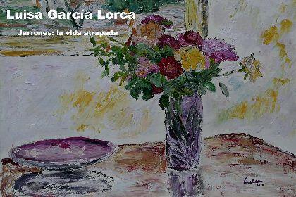 El Palacio Guevara acoge desde mañana una exposición de pintura de Luisa María García Lorca