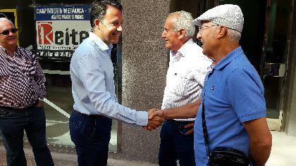 Fulgencio Gil: ''la obtención de la financiación para construir el tramo 3 de la ronda central nos permite completar en su totalidad la vía de comunicación más importe de Lorca''