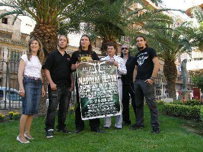 Bandas heavy de España, Alemania, Italia y Reino Unido estarán presentes en el festival ?Metal Lorca? que se celebrará en nuestra ciudad los días 30 y 31 de julio