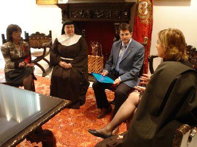 El Ayuntamiento de Lorca regalará una talla de la Virgen de las Huertas al convento de Clarisas de Guatemala