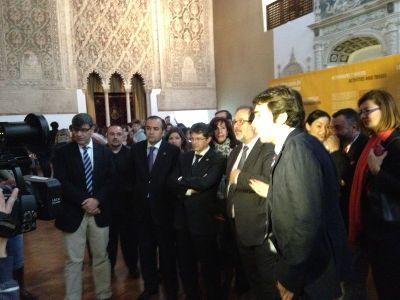 Inaugurada la exposición temporal ''Huellas de la Cultura judía en Lorca'' en el Museo Sefardí de Toledo