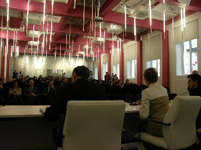 Francisco Jódar da la bienvenida a los primeros universitarios del campus de Lorca