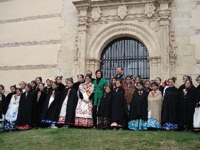 Lorca elige a la nueva Reina de la Huerta Infantil 2.008, tras la visita de las candidatas a la ciudad