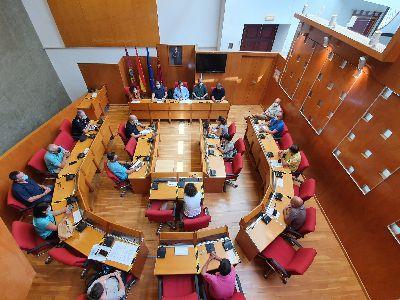 El alcalde de Lorca se reúne con los servicios municipales y activa el Plan ''Platelor'' ante el riesgo de temperaturas extremas