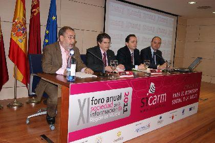Un centenar de personas participan en las IV Jornadas Tic''s para el Bienestar Social y la Salud que se celebran hoy en Lorca