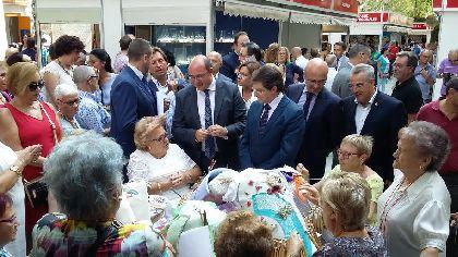 El Presidente de la Región de Murcia y el Alcalde de Lorca inauguran la XXXII edición de FERAMUR