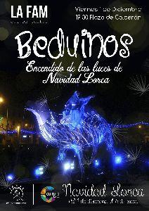 El espectáculo Beduinos protagonizará este viernes el tradicional encendido de las luces de Navidad a las 19.30 en la Plaza de Calderón