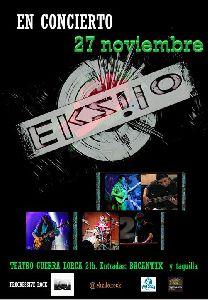 El grupo lorquino de rock progresivo 'Ekzilo' se suma a la programación del Teatro Guerra con unconcierto en noviembre