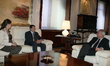 El Ayuntamiento de Lorca y la Comunidad Autonoma firmarán un convenio antes del verano para la construcción del nuevo auditorio