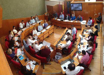 Balance de votaciones del pleno ordinario del Ayuntamiento de Lorca correspondiente al mes de septiembre