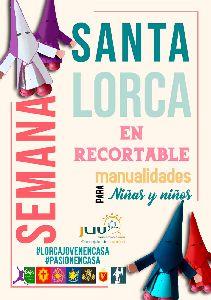 La concejalía de Juventud pone en marcha 'Semana Santa de Lorca en recortable'