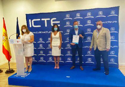 La Oficina de Turismo de Lorca consigue el certificado de calidad ''Safe Tourism Certified'