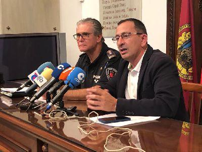El Ayuntamiento solicitará a la CARM la prórroga de la partida para la creación de una Unidad Especial de Policía Local