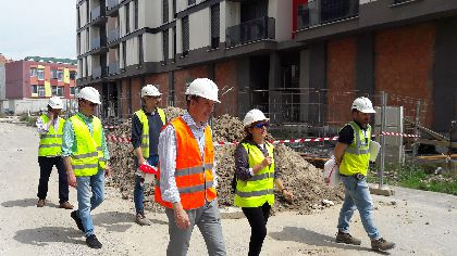 El Alcalde afirma que la reconstrucción del barrio de San Fernando supone un hito social y emocional que marcará la culminación de la recuperación de Lorca tras los terremotos