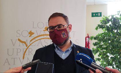 El alcalde de Lorca convoca urgentemente la Comisión de Seguimiento de COVID-19 ante el incremento de casos