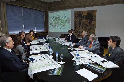 La Comisión de Seguimiento del Plan Director para la Recuperación del Patrimonio Cultural de Lorca se reúne en el IPCE
