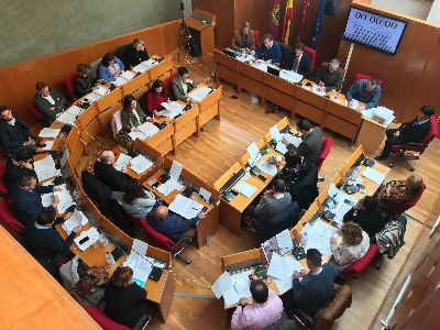 Balance de votaciones del Pleno Ordinario del Ayuntamiento de Lorca correspondiente al mes de febrero