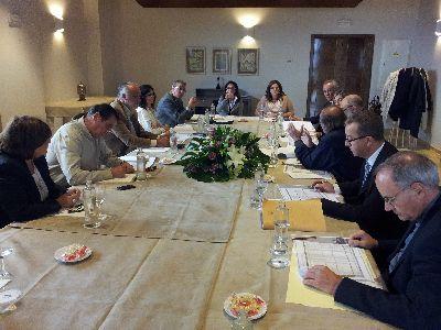 Reunión de la Comisión del Plan Director para la recuperación del Patrimonio Cultural de Lorca