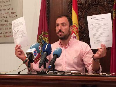 El concejal de Empresas Públicas del Ayuntamiento de Lorca, Francisco Morales, denuncia ''graves irregularidades'' en el seno de la empresa municipal de limpieza, Limusa