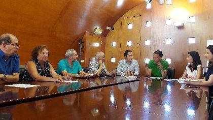 El Alcalde preside la reunión de la Comisión Permanente del Consejo Social de la Ciudad para abordar las consecuencias del anunciado abandono de Lorca de los franciscanos
