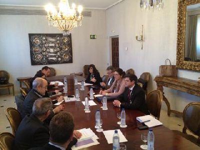 El Alcalde de Lorca asiste a la reunión de la Comisión de Seguimiento del Plan Director en el Ministerio de Cultura
