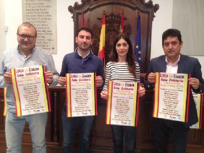 El Ayuntamiento de Lorca y Nuevos Lorquinos inician el martes la recogida de alimentos no perecederos, pilas y linternas para damnificados del terremoto de Ecuador