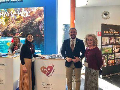Lorca se promociona en la 15ª Feria Internacional de Turismo NAVARTUR, que se celebra este fin de semana en Pamplona