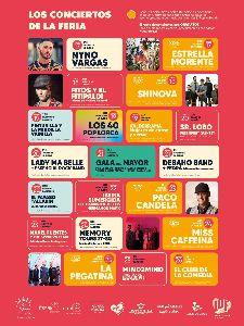 La programación musical de la Feria continúa con los conciertos gratuitos de los tributos a Springsteen, ABBA y U2