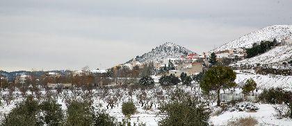 Incidencias por temporal de frío y nieve en Lorca (actualizado a las 18:20 h)