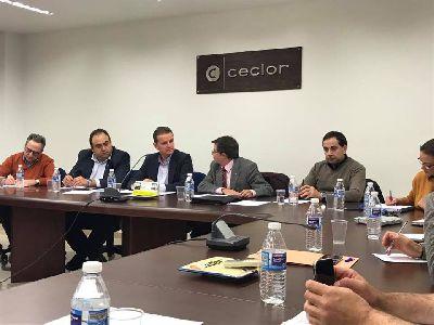Ayuntamiento, Ceclor y Cámara de Comercio avanzan en la concreción de medidas para reactivar el Casco Histórico de Lorca