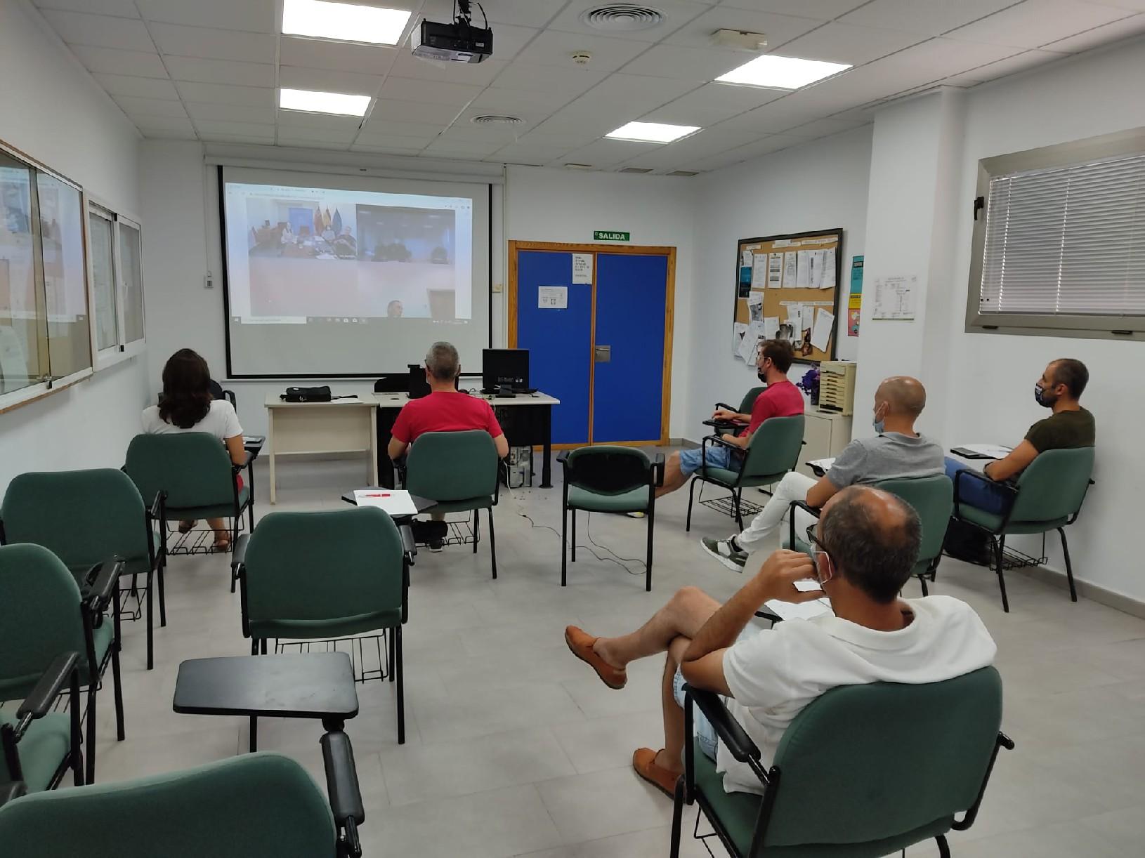 Agentes de la Policía Local participan en una jornada formativa para los municipios incorporados al sistema Viogén