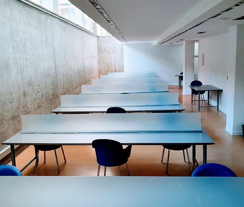 Con la entrada en la fase 3 reabre, hoy, la sala de estudio de la Biblioteca municipal